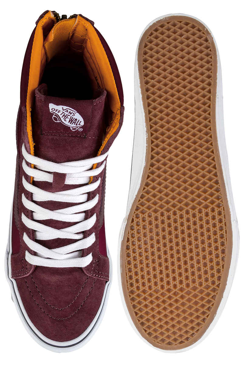Vans Sk8-Hi Slim Zip Zapatilla women (port royale true white)