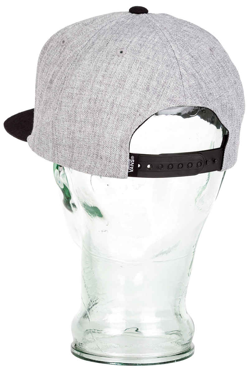Vans Drop V II Snapback Cap (heather grey)