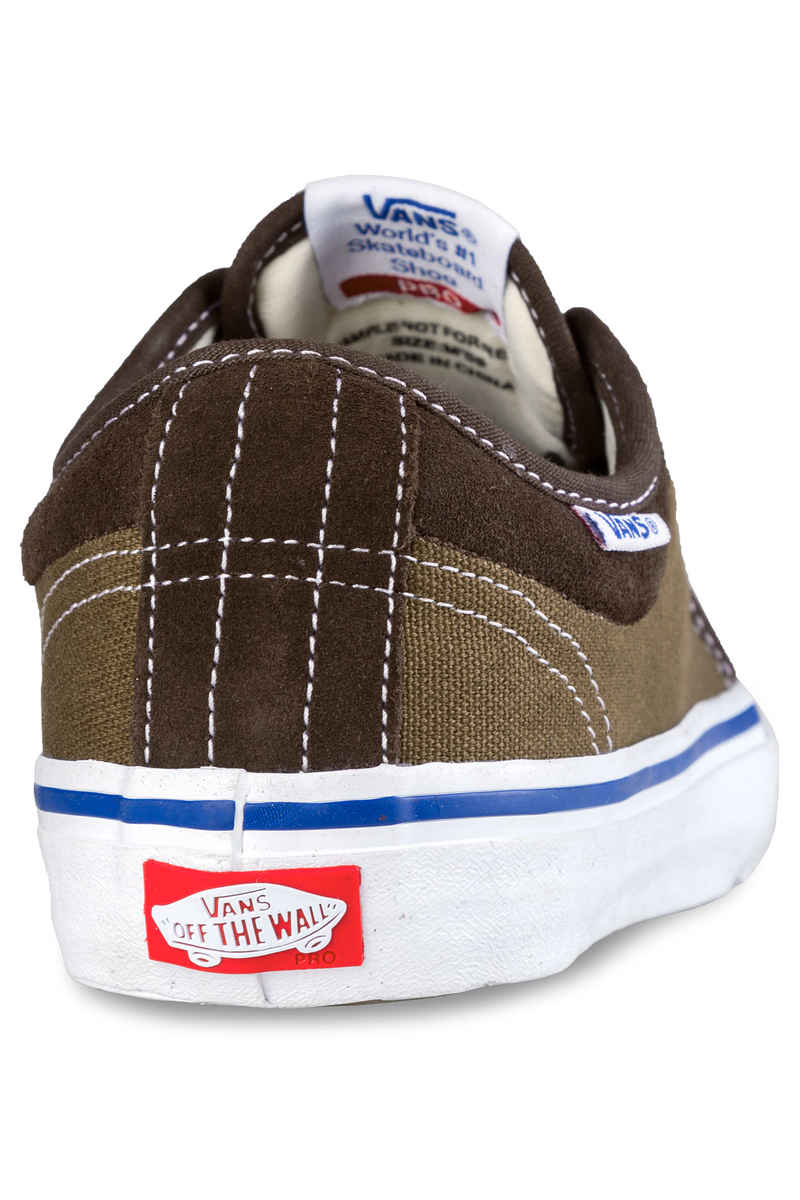 Vans Chukka Low Pro Shoes (coffee bean teak)