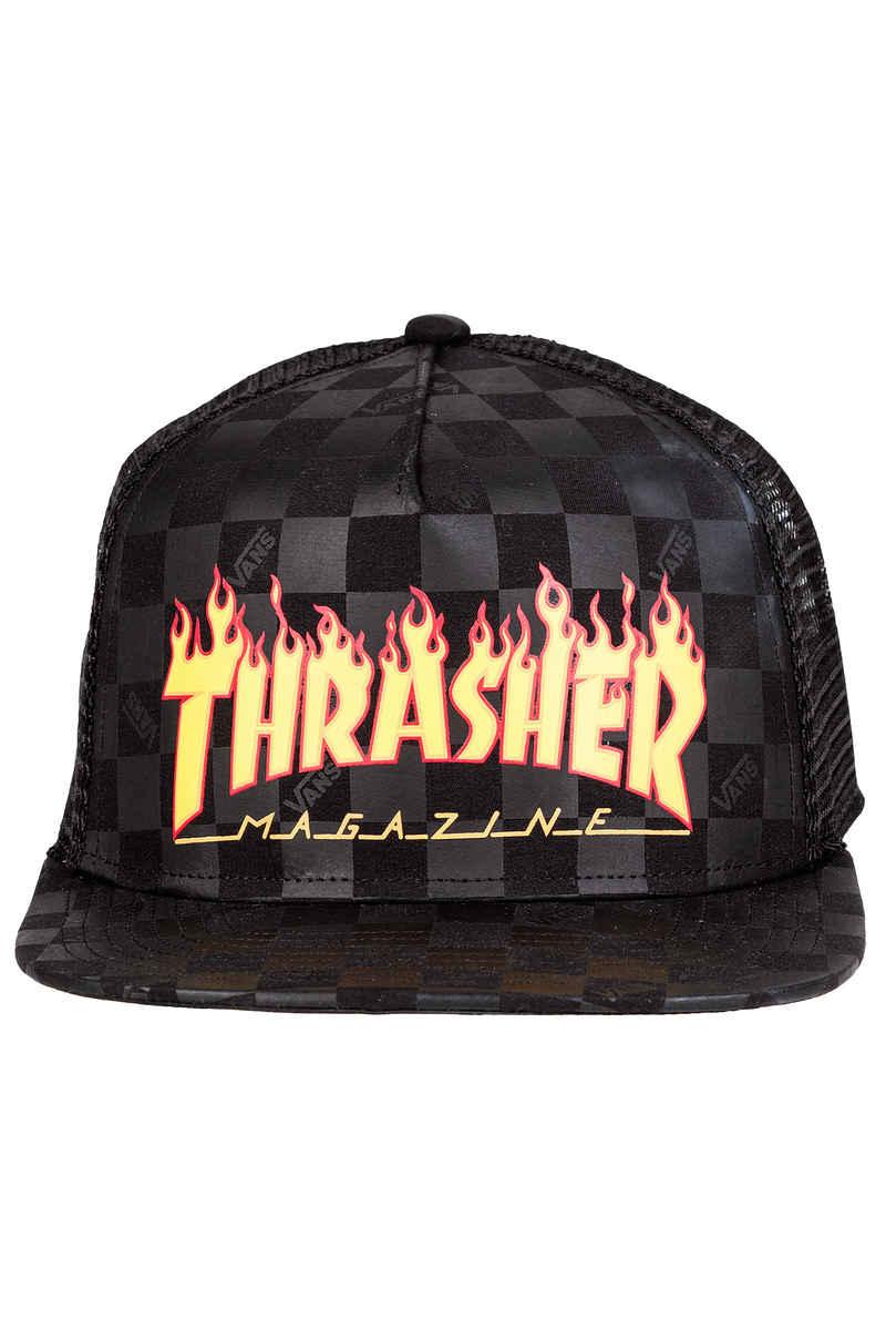 Vans x Thrasher Trucker Casquette (black)