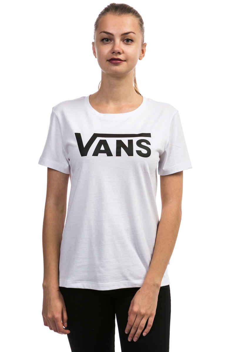 Vans Flying V T-Shirt women (white black)