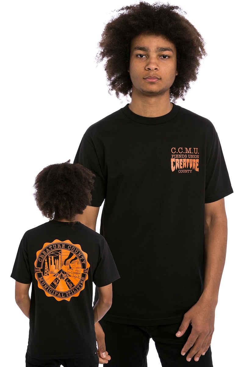 Creature C.C.M.U. Grunt T-Shirt (black)