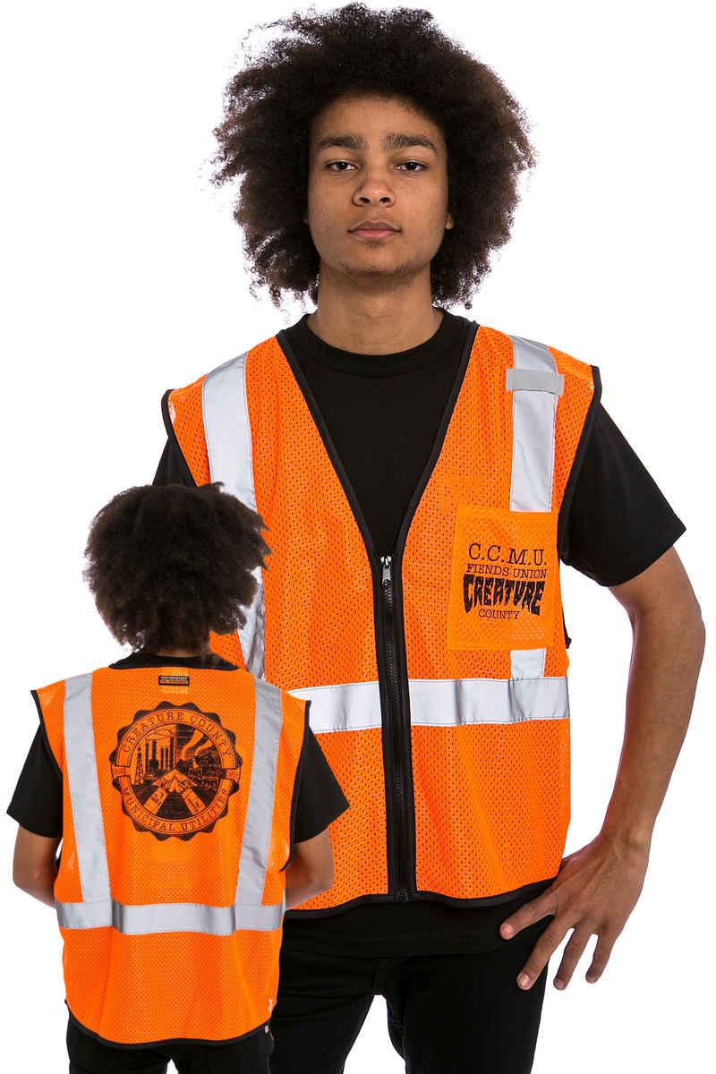Creature C.C.M.U. Work Weste (orange)