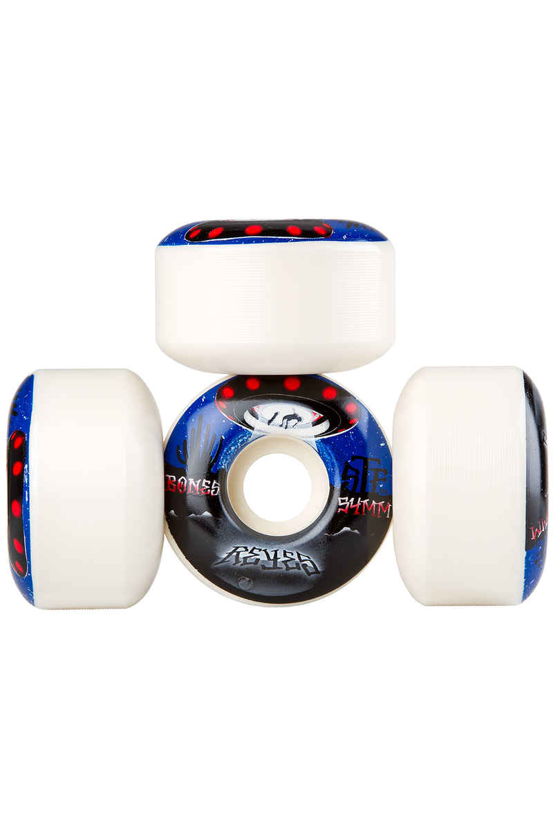 Bones STF Reyes Abducted V4 Rueda (white) 54mm 103A Pack de 4