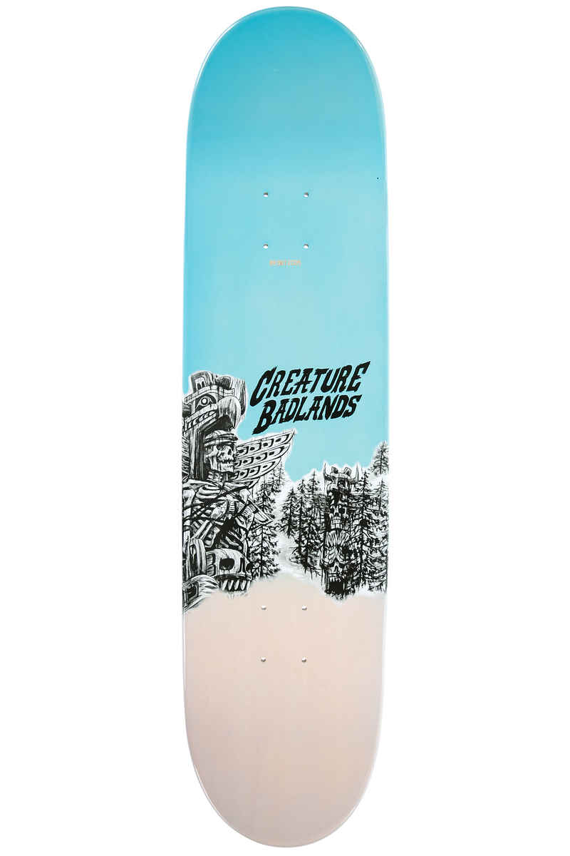"Creature Partanen Back To The Badlands 8.1"" Deck (black blue)"