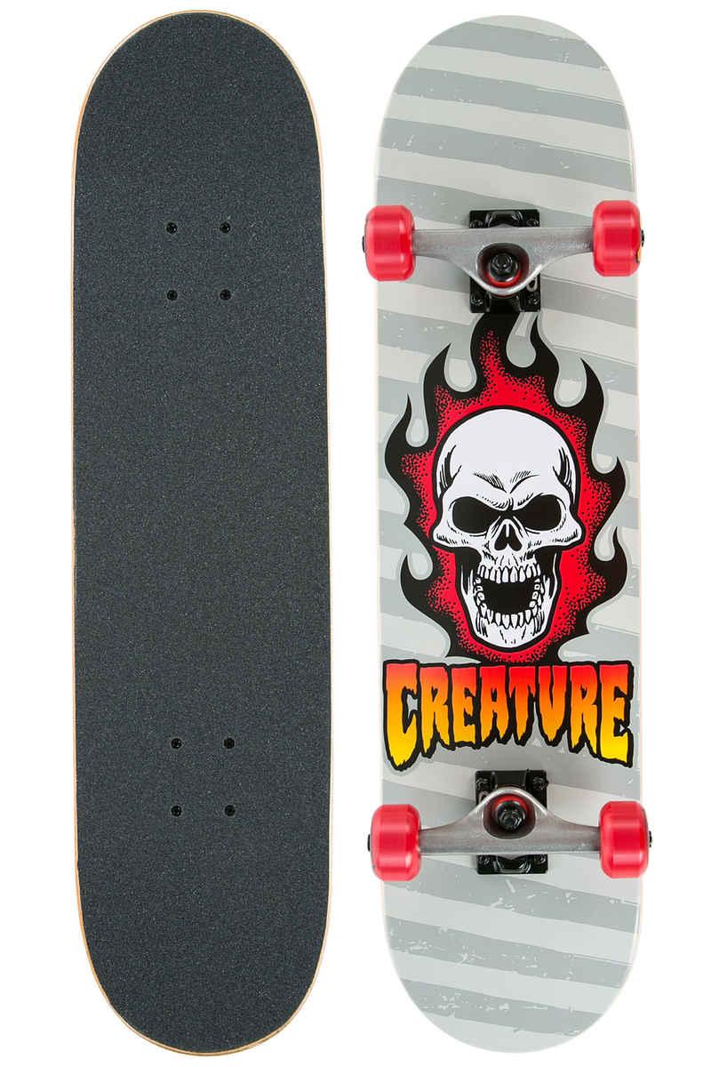 """Creature Bonehead 7.75"""" Complete-Board (silver)"""