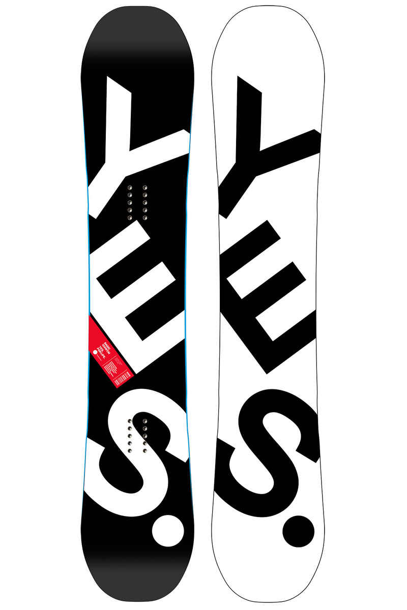 YES The Basic 159cm Wide Snowboard 2017/18
