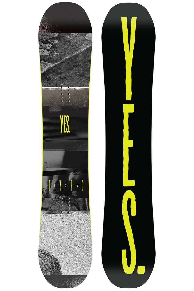 YES Typo 155cm Snowboard 2017/18