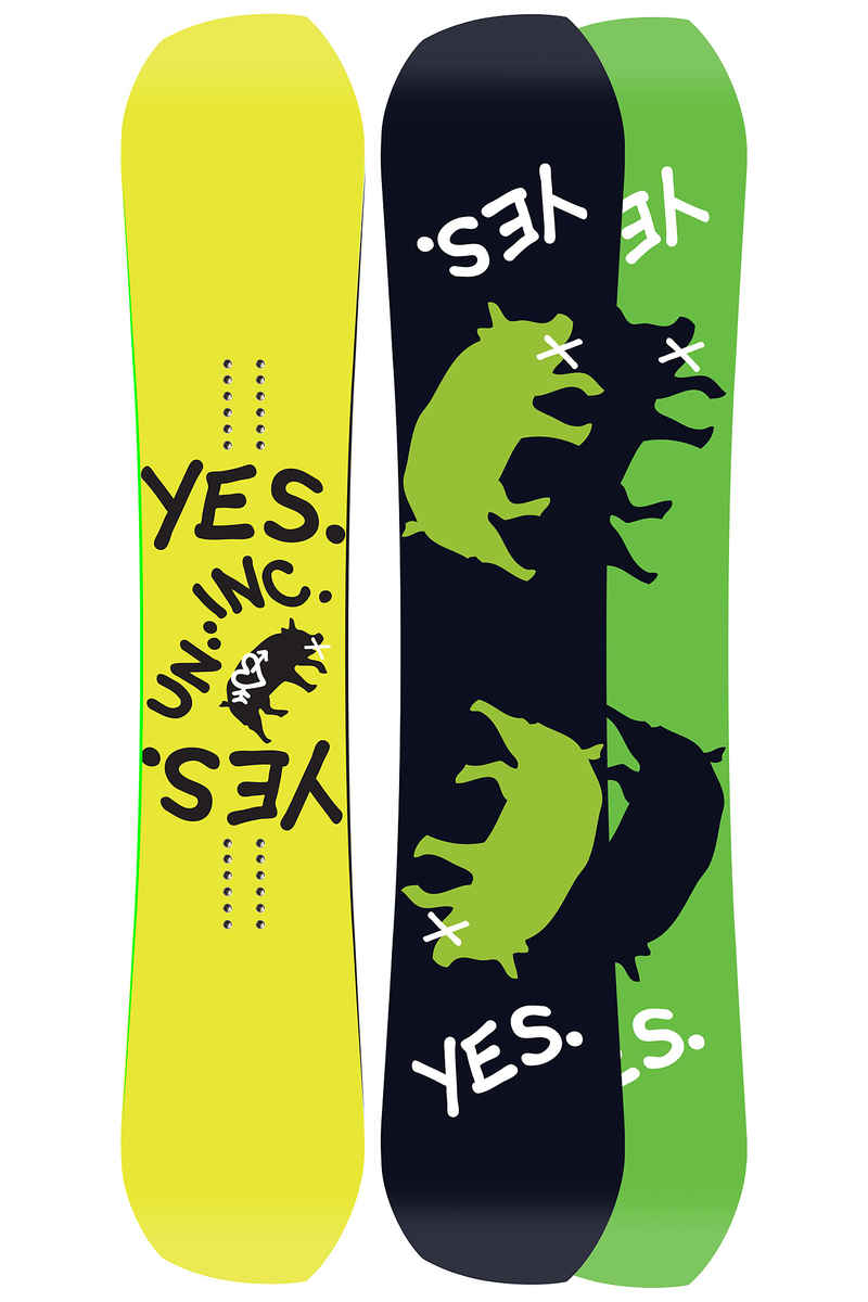 YES Greats Uninc 158cm Snowboard 2017/18