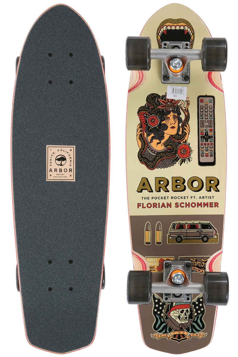 "Arbor Pocket Rocket Artist Collection 26"" (68,5cm) Cruiser 2017"