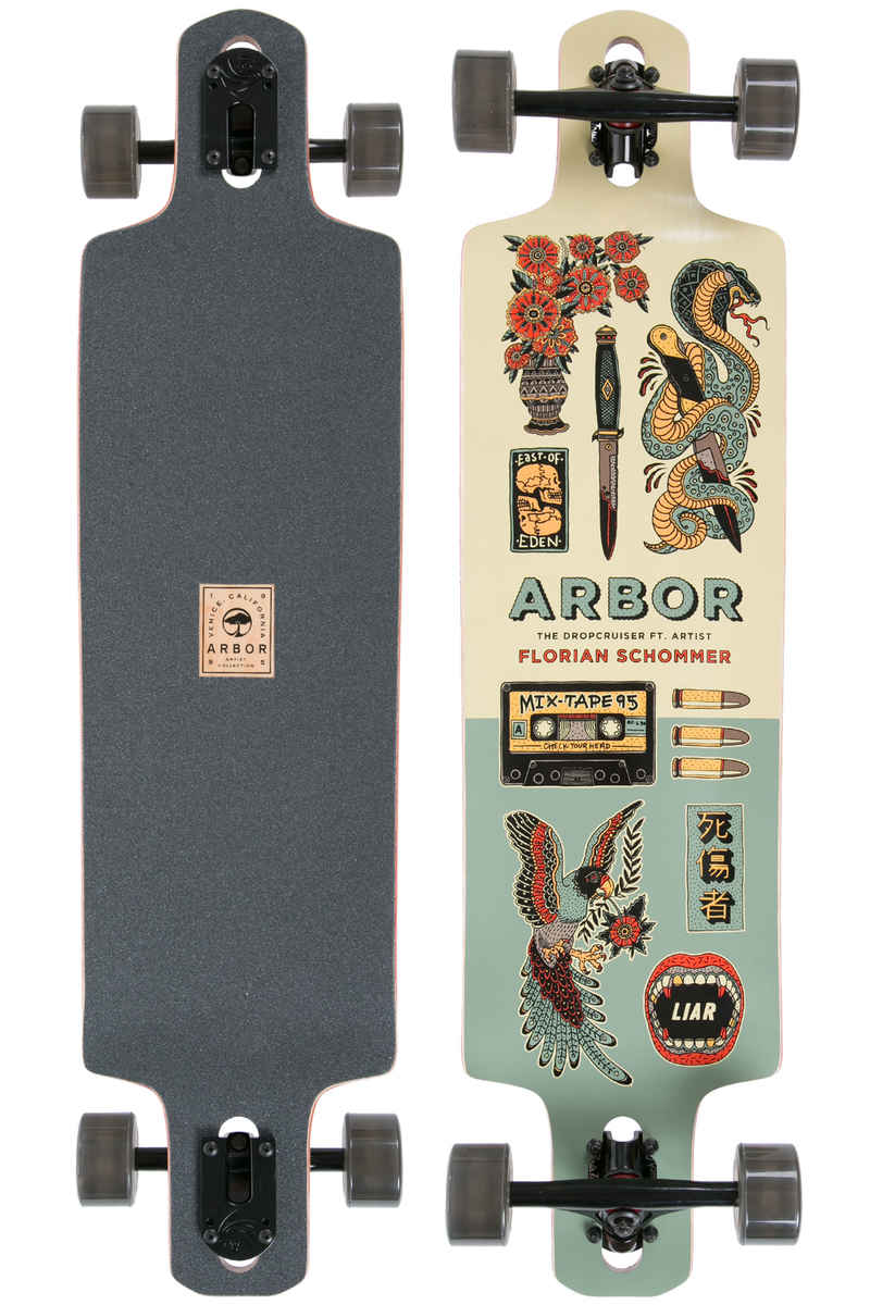 "Arbor Drop Cruiser Artist Collection 38"" (96,5cm) Complete-Longboard"