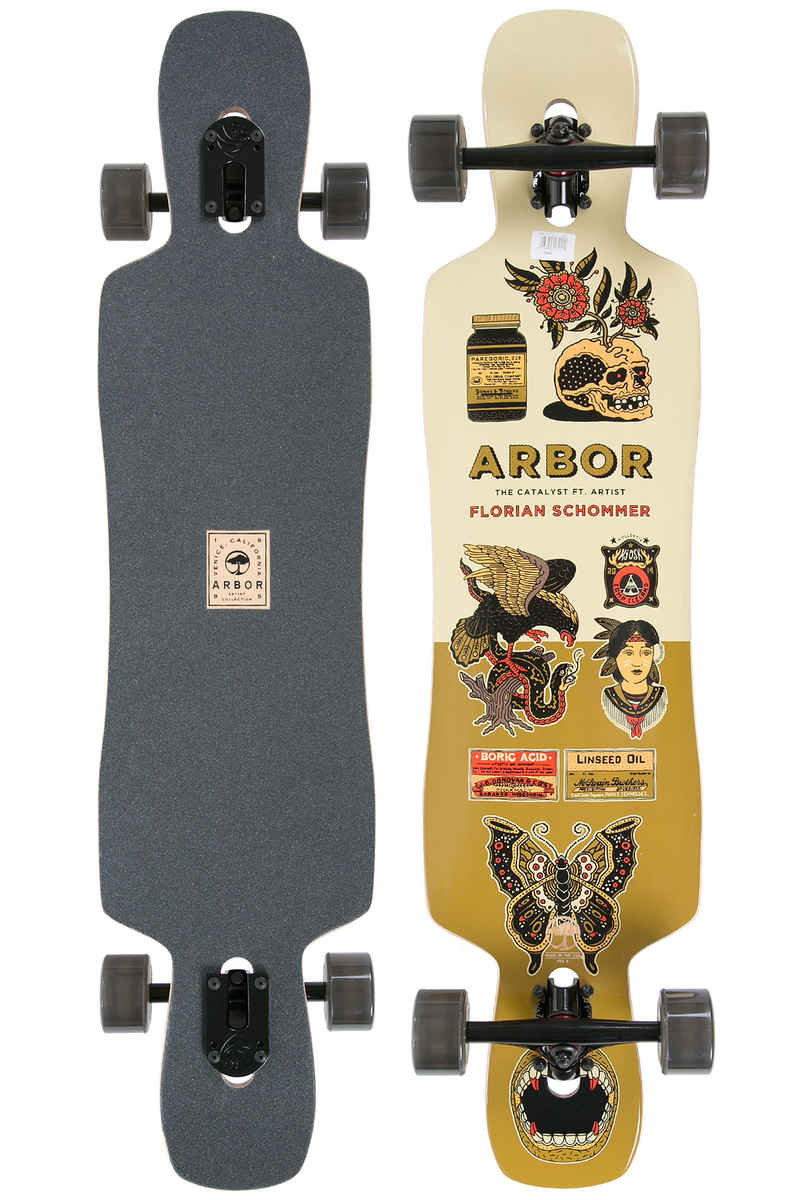 "Arbor Catalyst Artist Collection 41"" (104cm) Complete-Longboard"