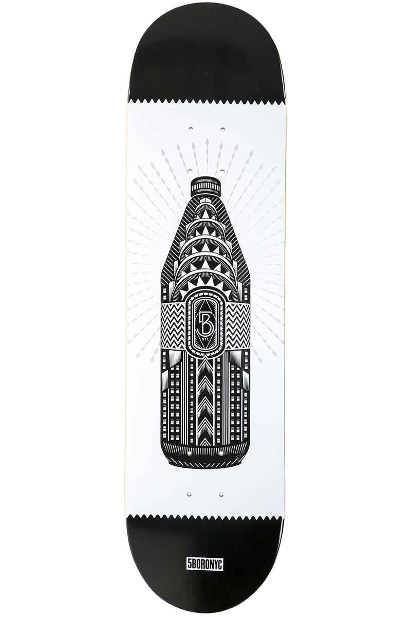 "5BORO 40 oz Art Series 8.25"" Deck (black white)"