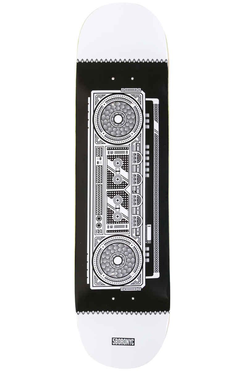 "5BORO Boombox Art Series 8"" Deck (black white)"