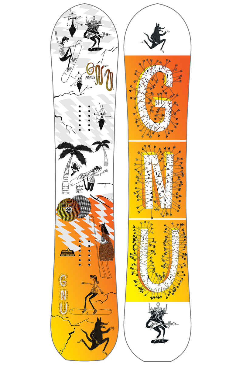 Gnu Money 152cm Snowboard 2017/18