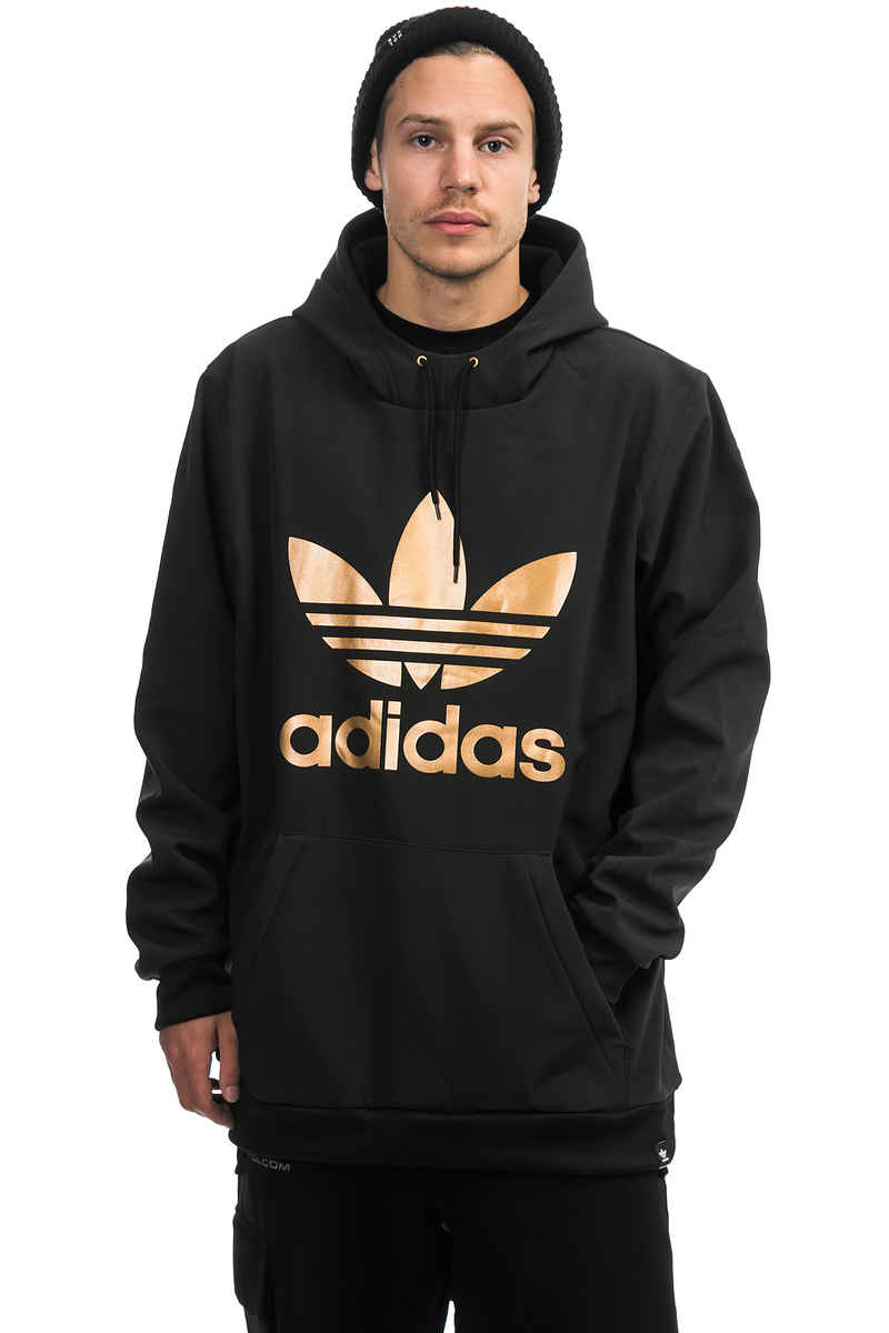 adidas Team Tech Snow Hoodie (black gold)
