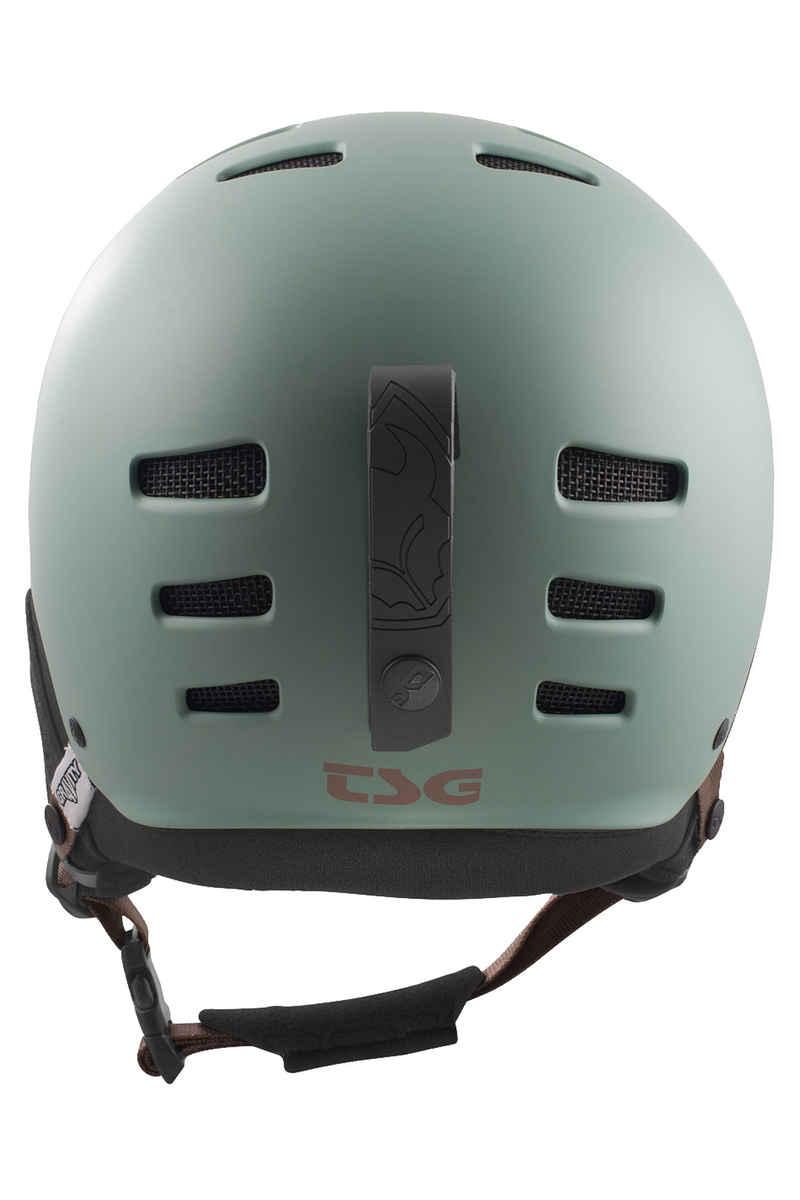 TSG Gravity Solid Color Snow-Helmet (satin viridian)