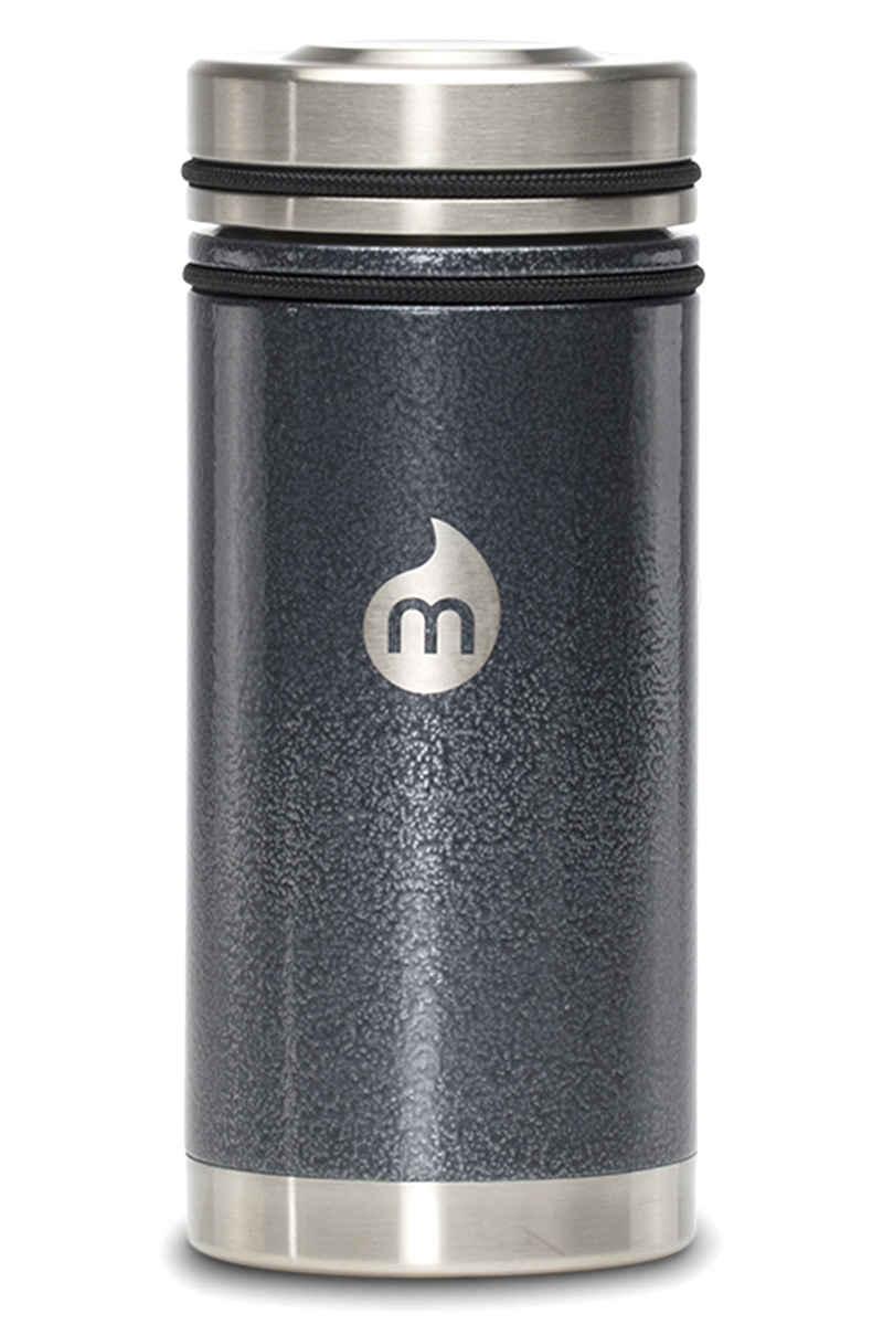 Mizu V5 Flask (grey hammer paint)