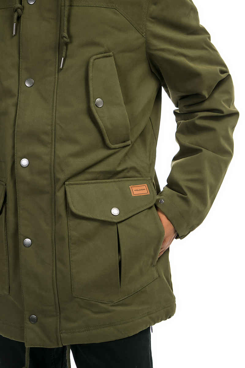 Volcom Starget Parka Jacket (military)