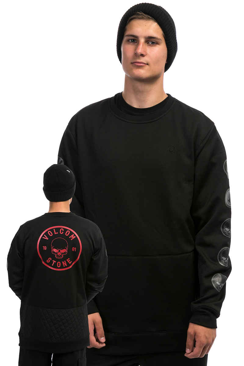 Volcom Pat Moore Snow Fleece Sweatshirt (black)