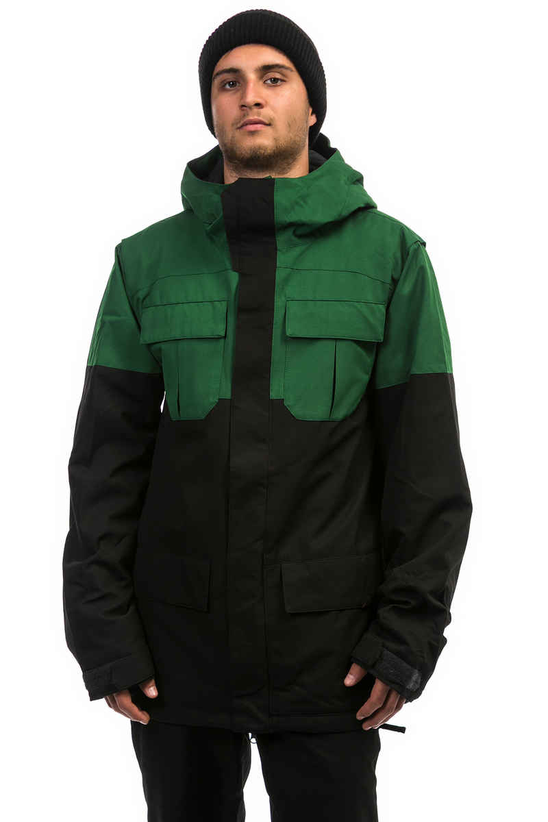 Volcom Alternate Insulated Snowboard Jacke (snow forest)