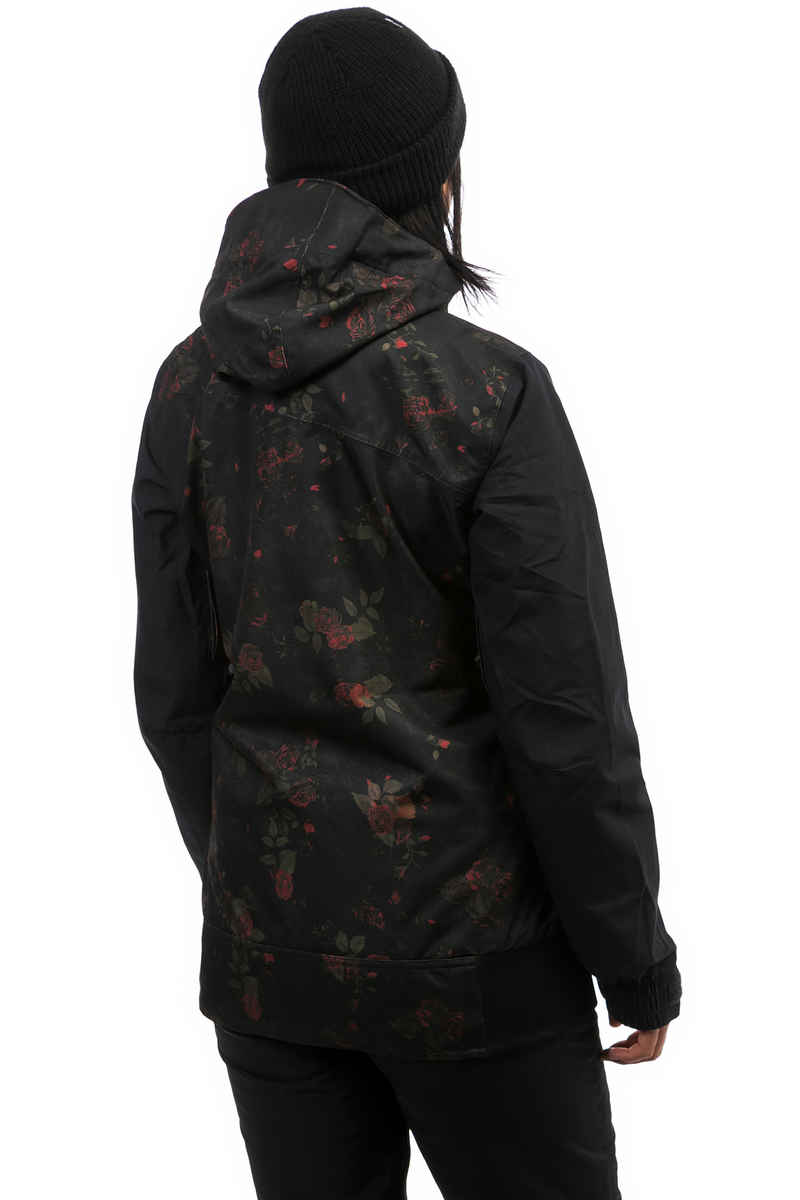 Volcom Stave Snowboard Jacke women (black floral print)