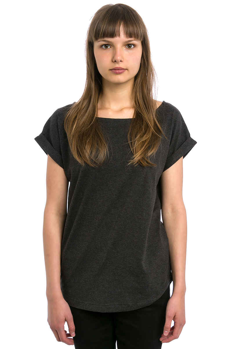 Wemoto Bell T-Shirt women (black melange heather)