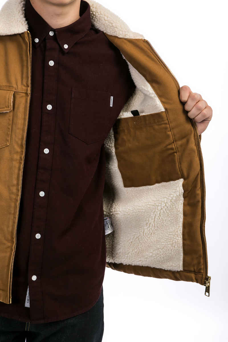 Carhartt WIP Miles Veste (hamilton brown)