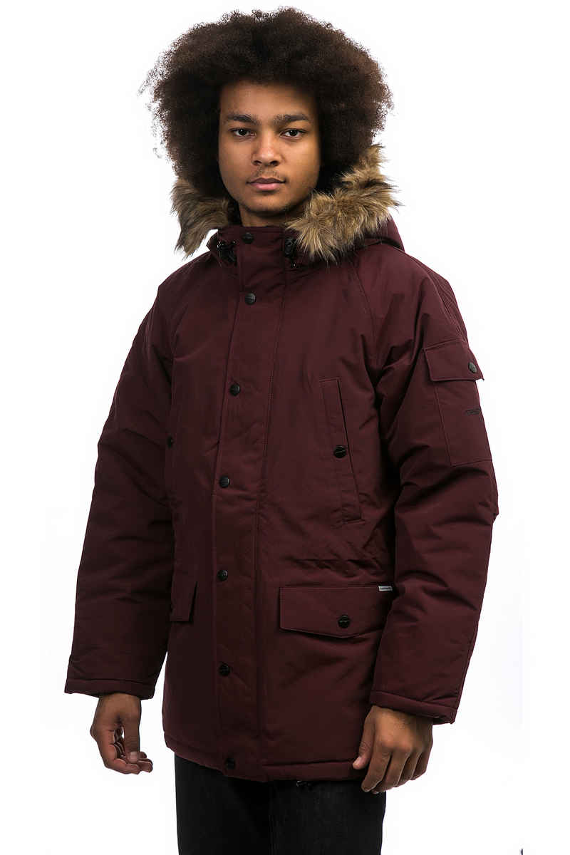 Carhartt WIP Anchorage Parka Jacke (amarone black)