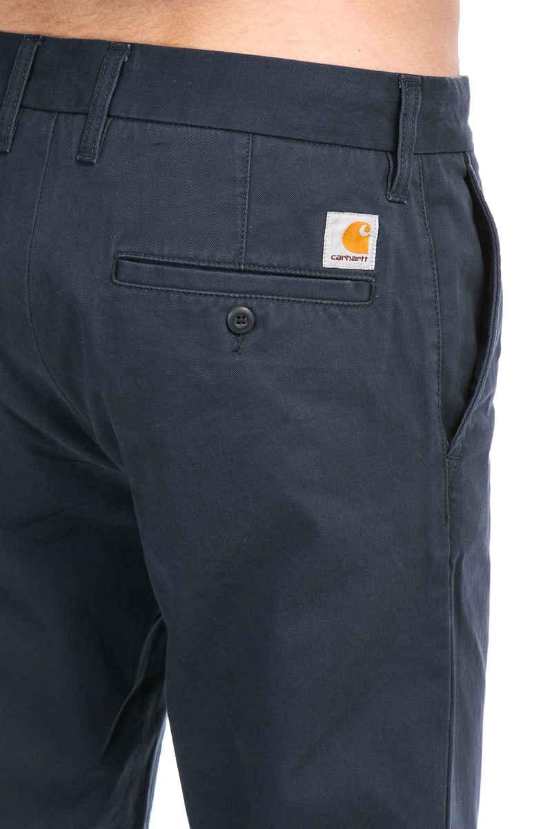 Carhartt WIP Johnson Pant Millville Pants (navy rinsed)