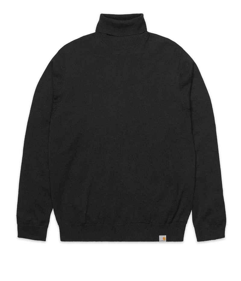 Carhartt WIP Playoff Turtleneck Sweatshirt (black)