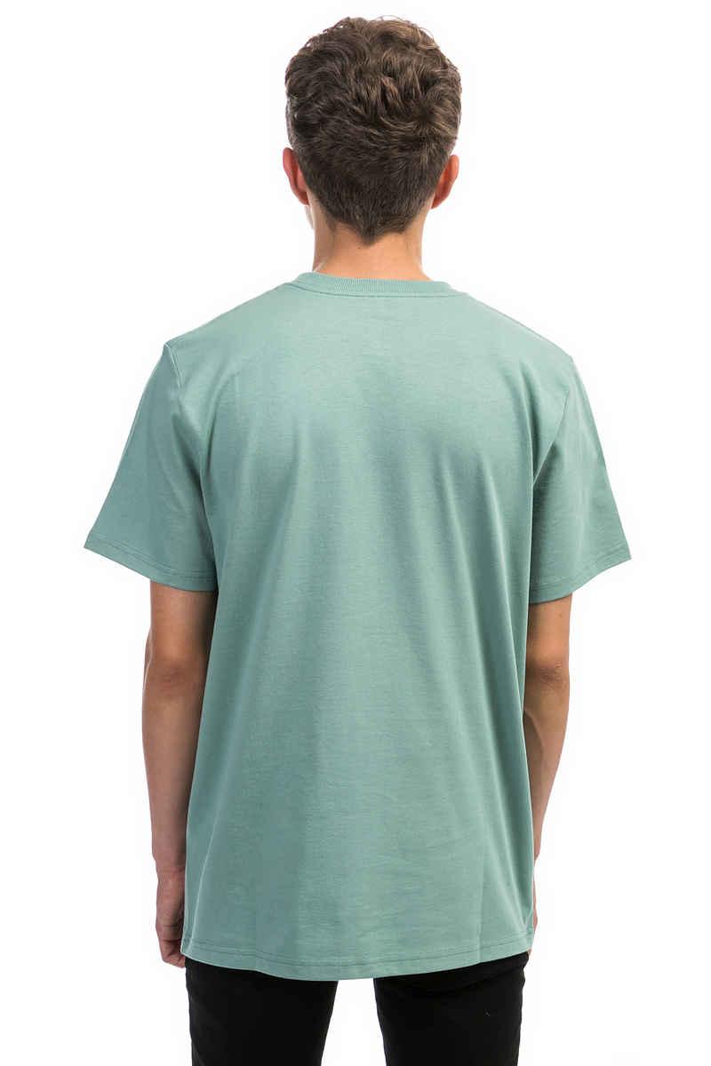 Carhartt WIP College Script T-Shirt (soft green white)