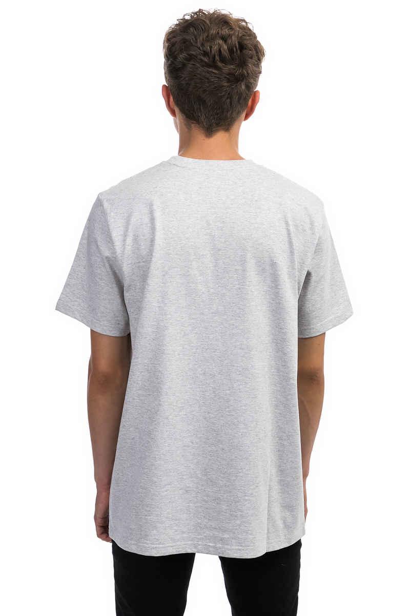 Carhartt WIP College T-Shirt (ash heather damson)