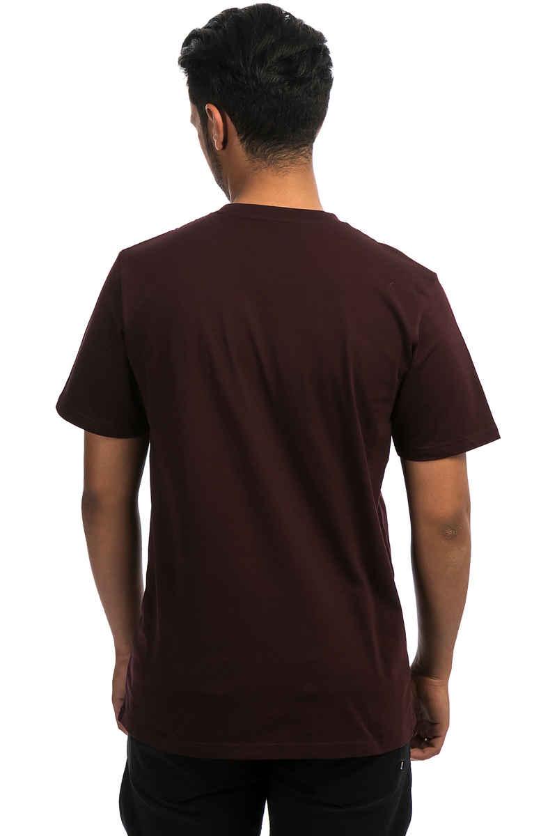 Carhartt WIP Script T-Shirt (damson white)
