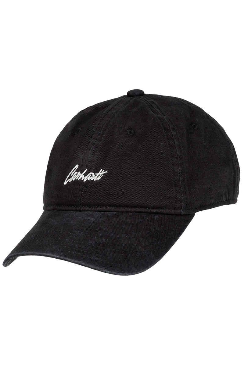 Carhartt WIP Stray 6 Panel Cap (black wax)
