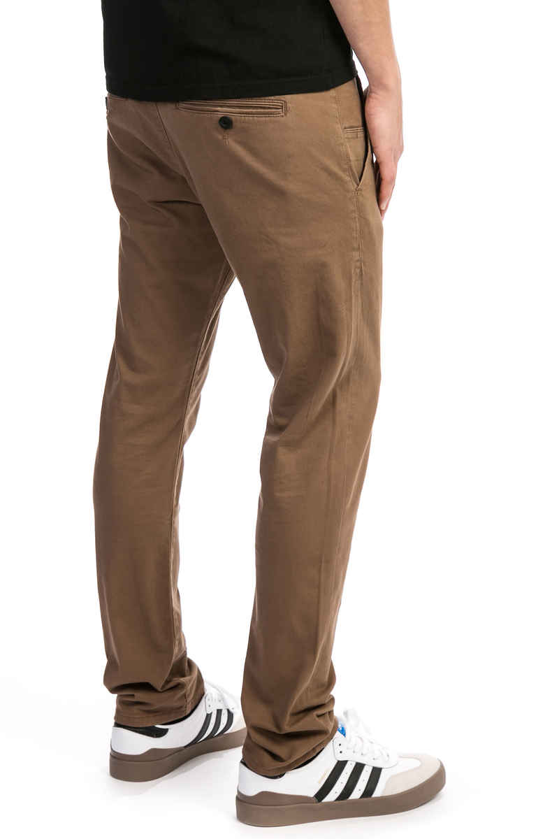 REELL Flex Tapered Chino Pants (brown)