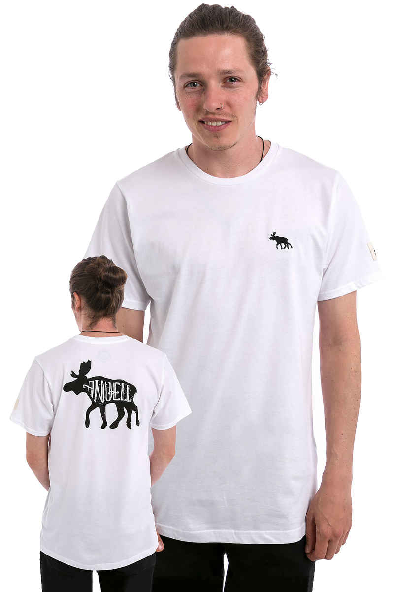 Anuell Mooser Camiseta (white)