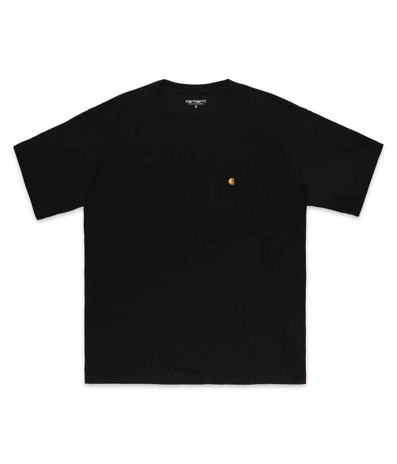 Carhartt WIP W' Chase T-Shirt women (black gold)