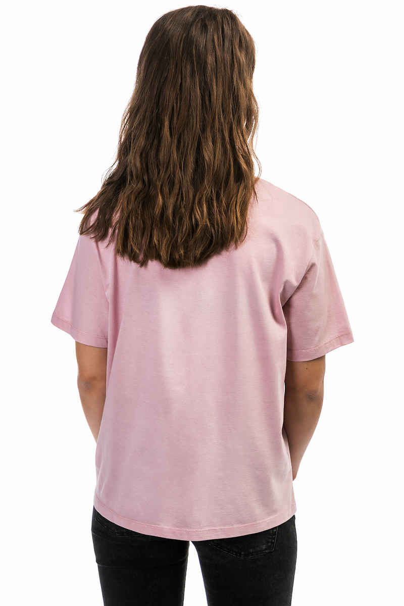 Carhartt WIP W' Temple Stray Pocket T-Shirt women (soft rose white)
