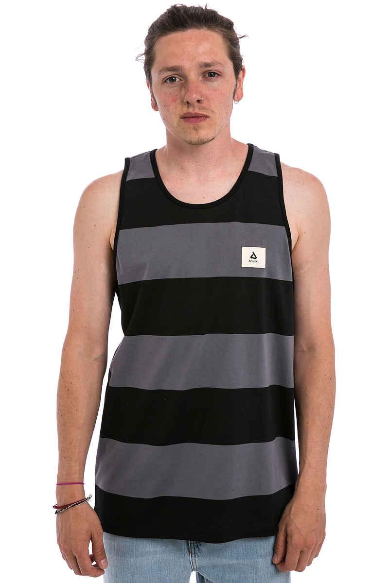 Anuell Beaslan Camiseta de tirantes (grey black)