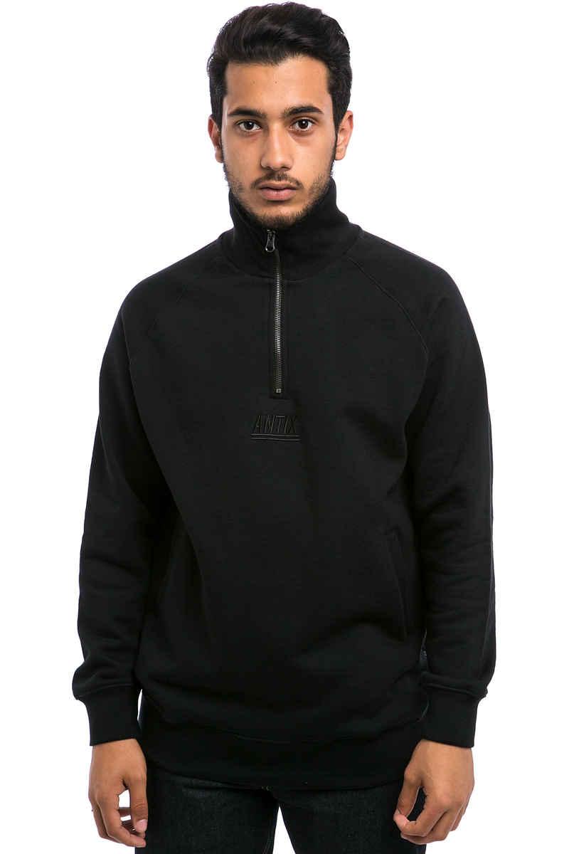 Antix Half Zip Sweatshirt  (black)