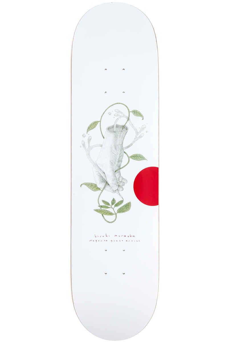 """Magenta x Hiroki Muraoka 8.125"""" Deck  (white)"""
