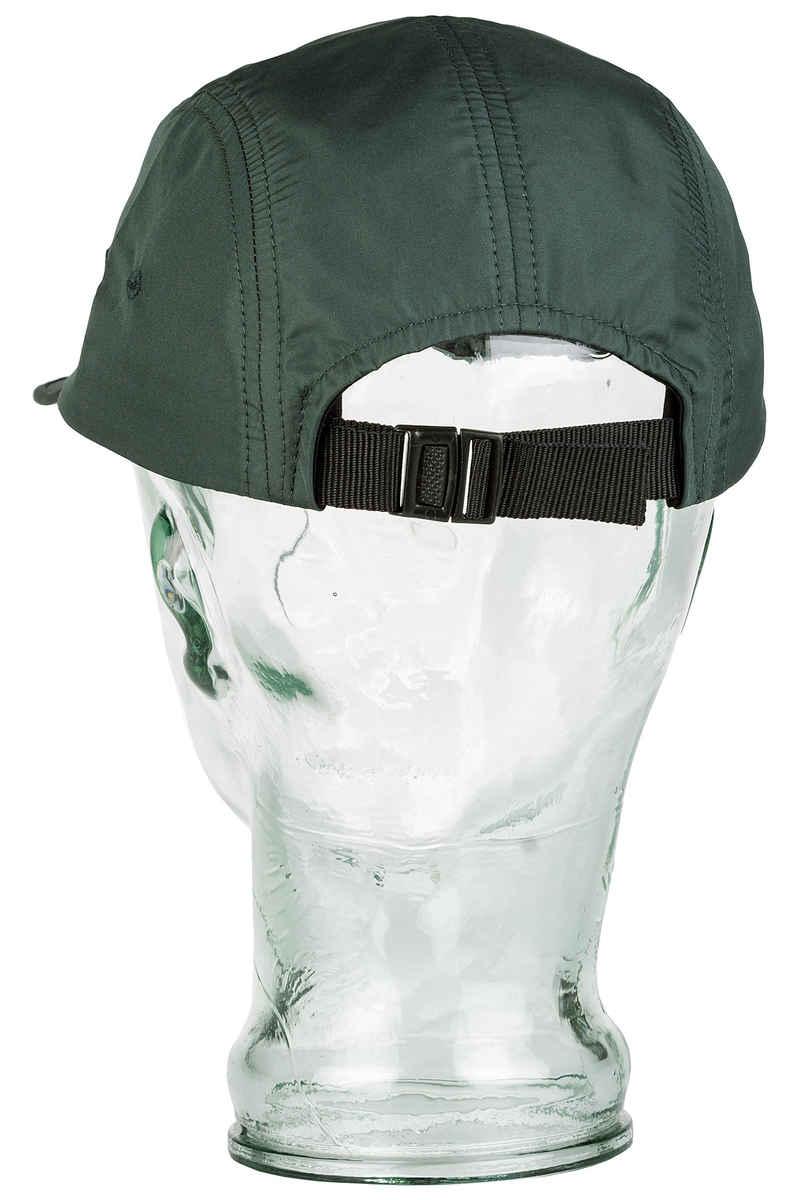 Magenta 5 Panel Cap (green)