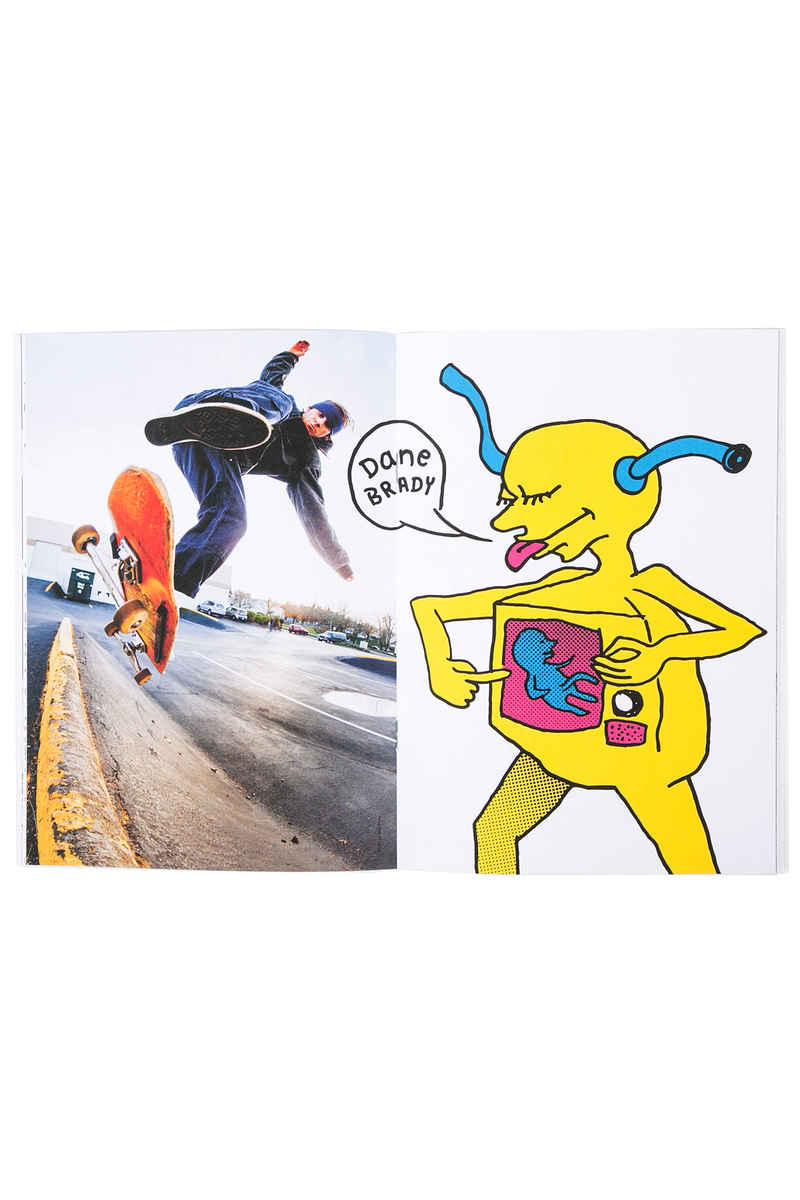 Polar Skateboards x Ron Chatman Menace To Society Zine Libro