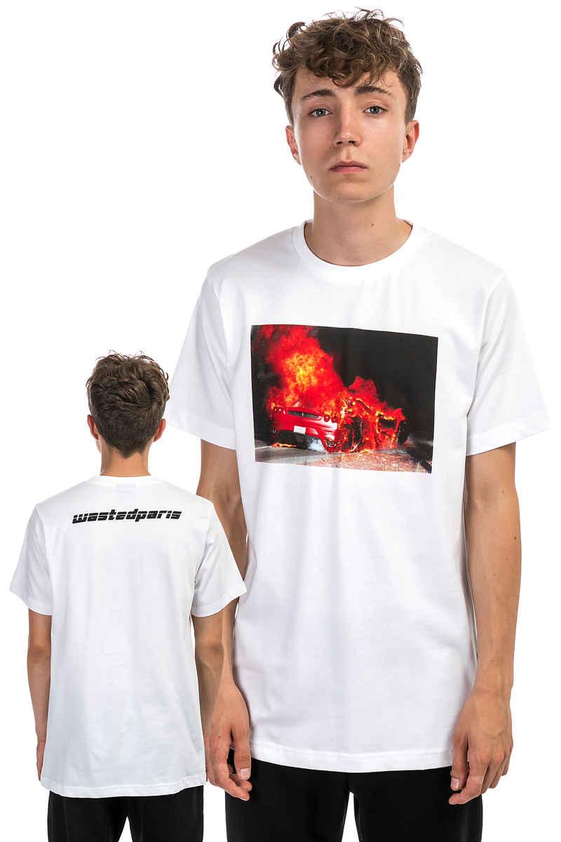 Wasted Fire Ferrari Camiseta (white)