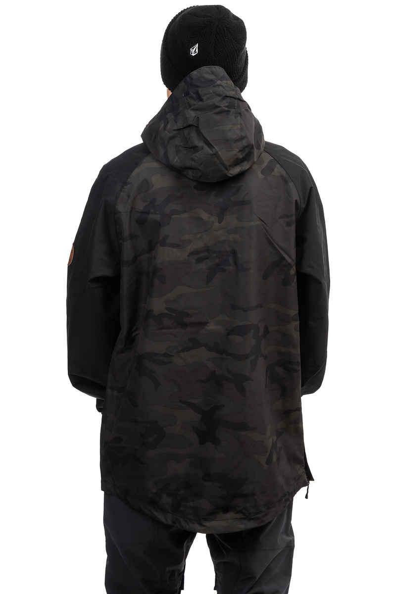 Horsefeathers Recruit Snowboard Jacke (black camo)