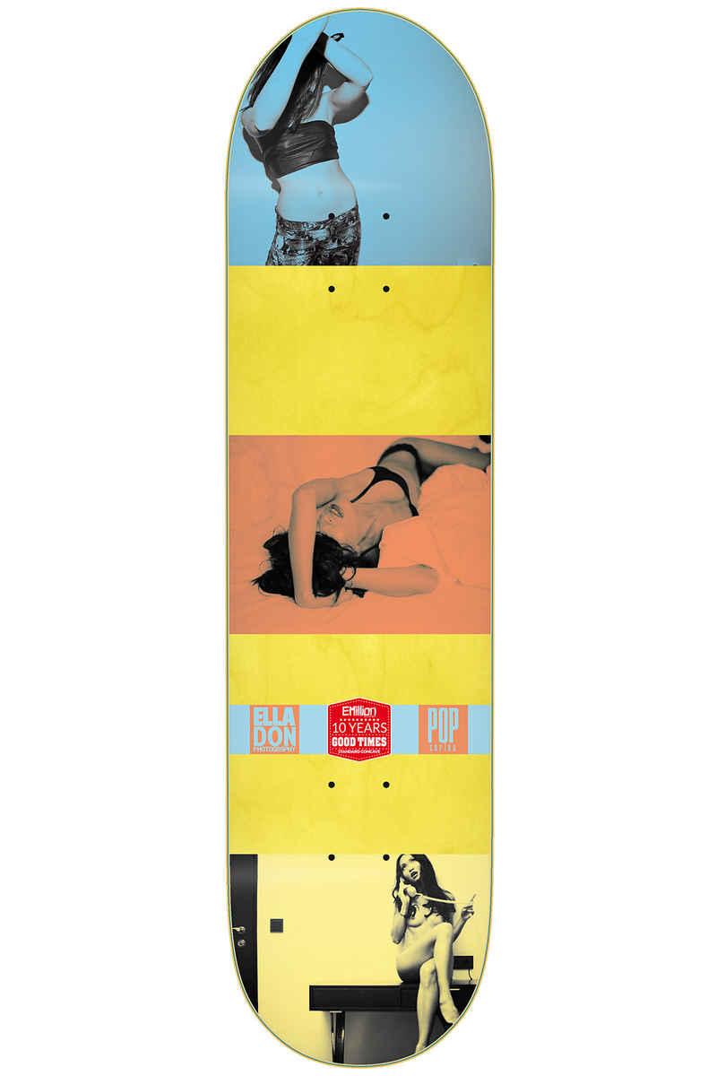 """EMillion Pop 8"""" Planche Skate (blue)"""