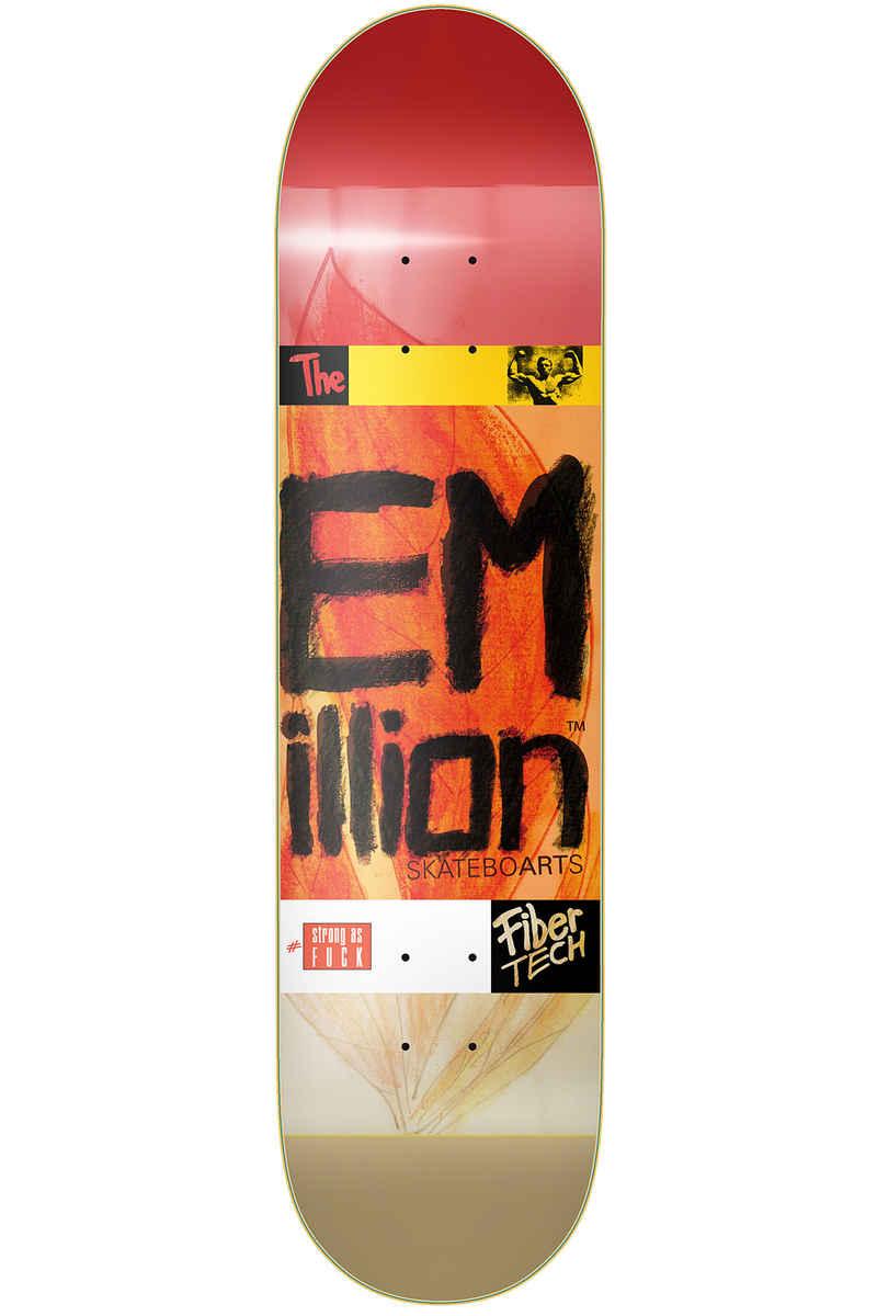 """EMillion Strong As Fuck Fibertech 7.875"""" Deck (multi)"""