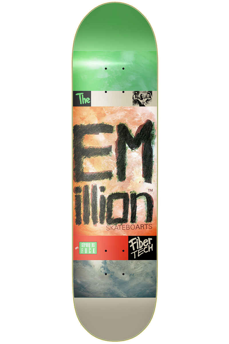"EMillion Strong As Fuck Fibertech 8.375"" Planche Skate (multi)"