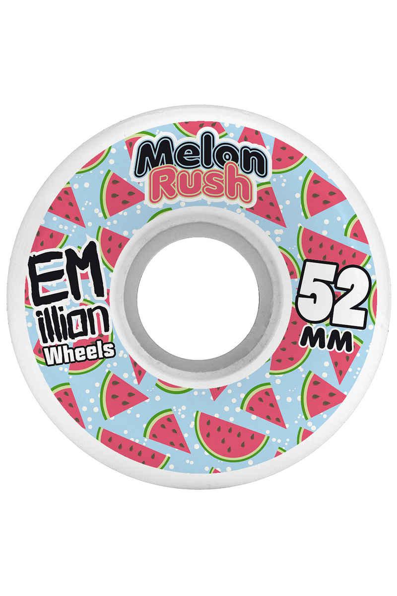 EMillion Melon Rush 52mm Rollen (white) 4er Pack